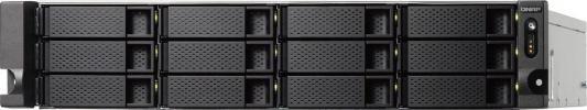 СХД стоечное исполнение 12BAY 2U RP NO HDD TS-1232XU-RP-4G QNAP рэковое сетевое хранилище rack nas qnap ts 463u rp 4g ts 463u rp 4g