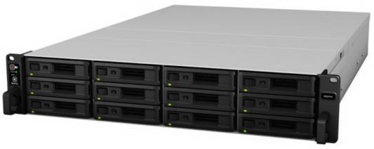 СХД стоечное исполнение 12BAY 2U RP NO HDD USB3 RS2418RP+ SYNOLOGY maiwo k252b 2 5 usb3 0 sata hdd enclosure black