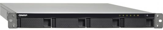 СХД стоечное исполнение 4BAY 1U RP NO HDD TS-453BU-RP-4G QNAP рэковое сетевое хранилище rack nas qnap ts 463u rp 4g ts 463u rp 4g