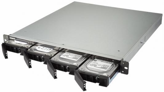 СХД стоечное исполнение 4BAY RP NO HDD TS-432XU-RP-2G QNAP направляющие для сетевого хранилища qnap rail a01 35 для ts ec1679u rp ts 1679u rp ts ec1279u rp ts 1279u rp ts ec879u rp ts ec879u rp