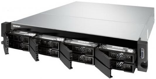 СХД стоечное исполнение 8BAY 2U RP NO HDD TS-832XU-RP-4G QNAP star fit rp 101