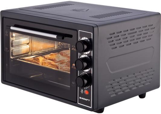 цены Мини-печь Kraft KF-MO 3804 RKBL чёрный