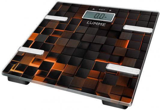 Весы напольные Lumme LU-1331 чёрный безмен lumme lu 1326