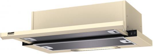 KRONA KAMILLA slim 600 ivory (1 мотор) Вытяжка кухонная вытяжка krona kamilla slim 600 ivory 2 мотора
