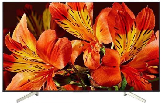 """Телевизор 49"""" SONY KD-49XF8596 черный 3840x2160 Wi-Fi Smart TV RJ-45 телевизор sony kd 55xf7596br2 tv"""