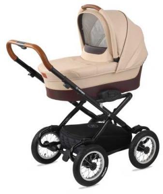 Купить Коляска для новорожденного Navington Galeon (колеса 12 /цвет royal sand), песочный, Коляски для новорожденных