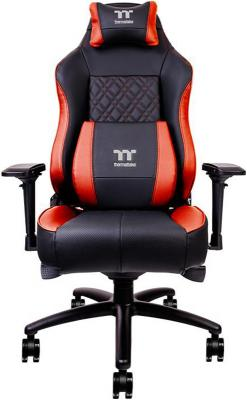 Thermaltake Кресло игровое X Comfort Air Gaming Chair (Black-Red) New bar chair black red white color seat coffee house public house stool study classroom university chair chair free shipping
