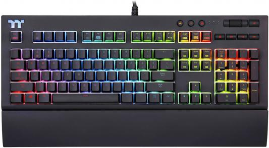 Thermaltake Клавиатура игровая Tt eSPORTS X1 RGB Cherry MX Gaming шарф paul smith серый page 3