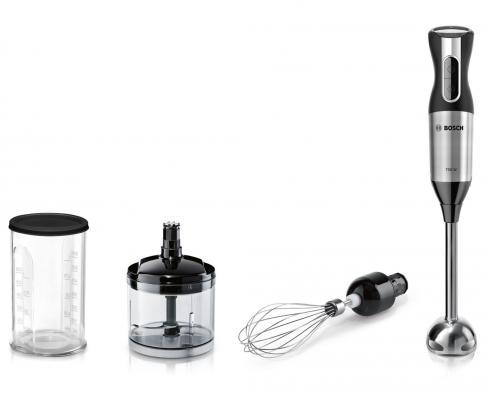 Блендер погружной Bosch MSM6S50B 750Вт чёрный блендер погружной braun patis mq775 750вт чёрный серый