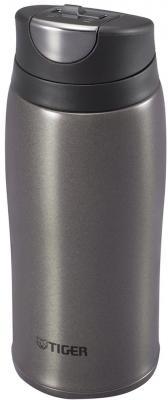 Термокружка Tiger MCB-H036 Gun Metallic, 0.36 л (нержавеющая сталь, цвет темно-серый)
