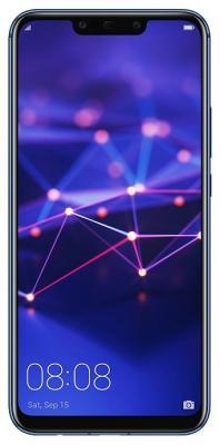 Смартфон Huawei Mate 20 Lite 64 Гб синий смартфон huawei mate 20 lite 64 гб черный 51092qtt