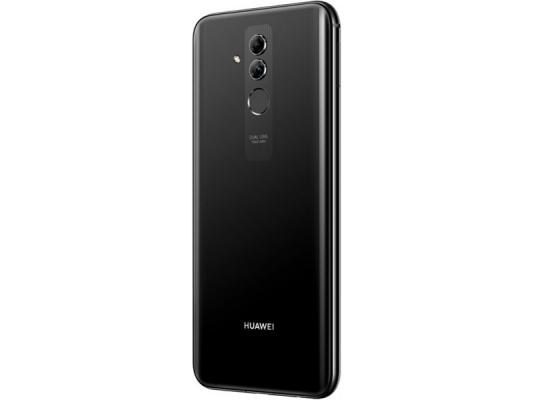 Смартфон Huawei Mate 20 Lite 64 Гб черный (51092QTT) huawei mate 20 128gb 4g twilight смартфон