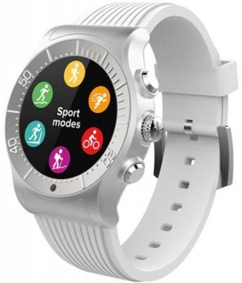 Смарт часы MyKronoz ZeSport цвет серебро/белый