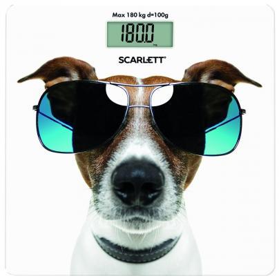 Весы напольные Scarlett SC-BS33E090 рисунок весы напольные scarlett sc bs33e075 рисунок
