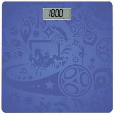 Весы напольные Scarlett SC-BS33E099 синий рисунок весы напольные scarlett sc bs33e084 голубой