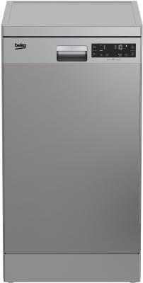 Посудомоечная машина Beko DFS26010X нержавеющая сталь (узкая) посудомоечная машина beko dfn 05310 w