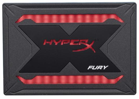 Kingston SSD 480GB HyperX Fury RGB SHFR200/480G {SATA3.0}