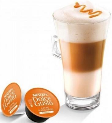 Кофе в капсулах Dolce Gusto Latte Macchiato Caramel 168.8 грамм 12136960