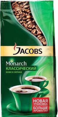 все цены на Кофе в зернах Jacobs Monarch 4251756 230 грамм онлайн