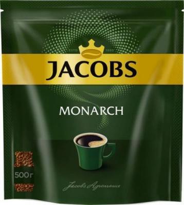 цена Кофе растворимый Jacobs Monarch 4251933 500 грамм онлайн в 2017 году