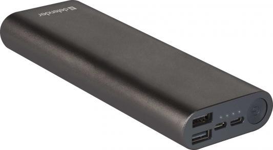 Внешний аккумулятор Lavita Fast 12000B 2*USB+1*Type-C, 12000 mAh, 3A (83626) 50pcs micro usb 3 0 male to usb c usb 3 1 type c female extension data cable for macbook tablet 10cm by fedex
