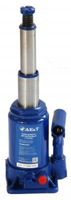 Домкрат AE&T T02004 бутылочный двухштоковый 4т грабли веерные плоский зуб вимо