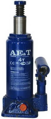 Домкрат AE&T T20204 бутылочный 4т бутылочный двухштоковый домкрат 6т ae