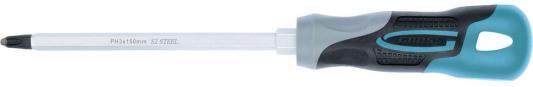 Отвертка GROSS 12149 PH3 x 150мм S2, трехкомпонентная ручка отвертка gross трехкомпонентная ручка pz 3 x 150 мм s2