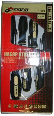 Набор отверток SKRAB 41383 отвертки набор 7шт. cv набор бит skrab 43903