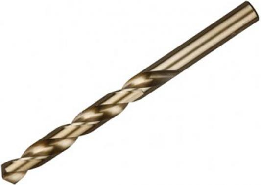 Сверло по металлу ЗУБР 4-29625-080-4.3 ЭКСПЕРТ стальP6M5 классА1 4.3х80мм набор сверл зубр 4 29625 h7r эксперт по металлу резьбовой стальp6m5 2 5 10 2мм 7шт