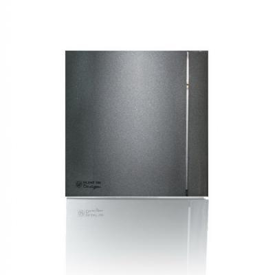 Вентилятор вытяжной SOLER&amp,PALAU Silent-100 CZ Grey Design 4С  95 м3/ч. Установочный д 98.9мм