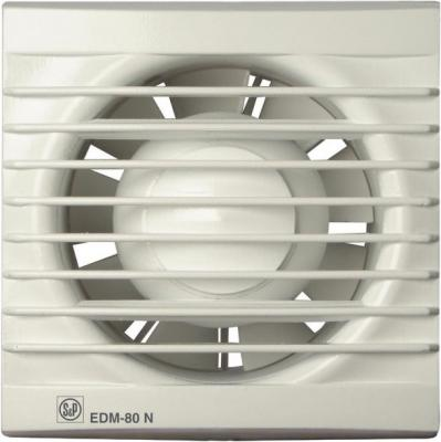 Вентилятор вытяжной SOLER&PALAU EDM 80N 2350 об\\мин. Установочный д 94 мм. 80 м3/ч вентилятор 80 мм