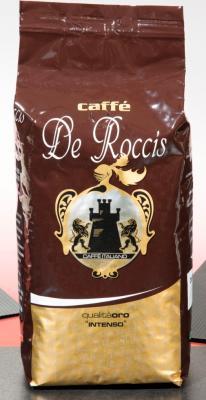 Кофе в зернах De Roccis Oro 500 грамм de roccis oro кофе в зернах 1 кг