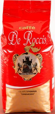 Картинка для Кофе в зернах De Roccis Rossa 500 грамм