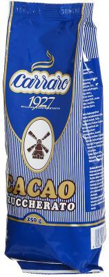 Растворимое какао Carraro Cacao Zuccherato 250 гр.