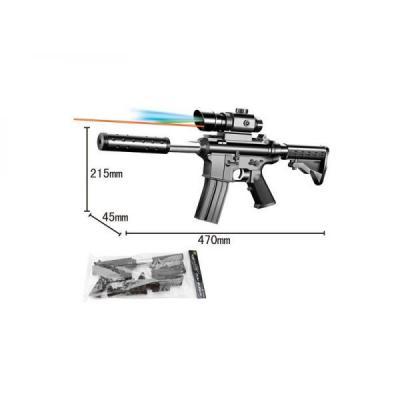 Купить Автомат Shantou Gepai 133-1 черный 1B00063, 5x44x19 см, для мальчика, Игрушечное оружие