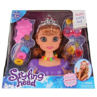 Купить Набор для создания причесок Shantou Кукла-манекен, для девочки, Игровые наборы Маленькая красавица