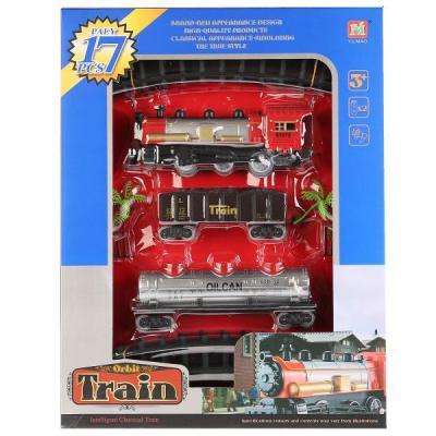 Купить Железная дорога Shantou Железная дорога 2211-7 с 3-х лет 1701B050, Детская железная дорога