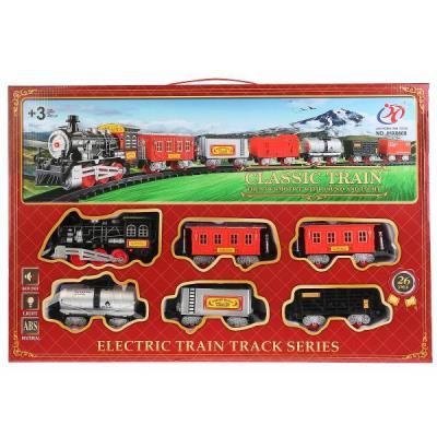 Железная дорога Shantou Железная дорога JHX6608 с 3-х лет B1606589 железная дорога игры настольные омзэт железная дорога с 3 х лет 153 топаз