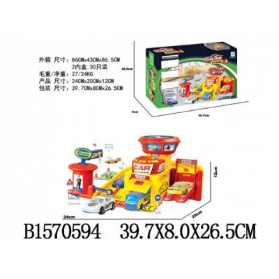 Купить Гараж с аксесс. A8372 В КОР. в кор.2*15шт, Shantou, Гаражи, парковки, треки