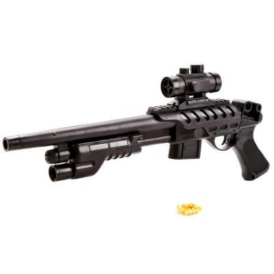 Купить Ружье Shantou Gepai РУЖЬЕ (П) С ОПТИЧ. ПРИЦЕЛОМ черный 1B00135, 4x19x53 см, для мальчика, Игрушечное оружие