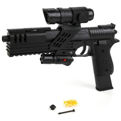 Купить Пистолет Shantou Gepai SP1-81 черный 1B00067, 5x30x20 см, для мальчика, Игрушечное оружие