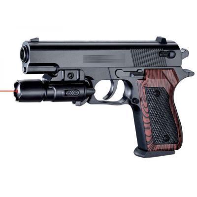 Купить Пистолет Shantou Gepai SP-3E черный 1B00123, 4x21x15 см, для мальчика, Игрушечное оружие