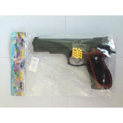 Пистолет Shantou Gepai ПИСТОЛЕТ черный 1B00251 пистолет shantou gepai desert eagle серый прицел гелевые пули usb зарядка 635448
