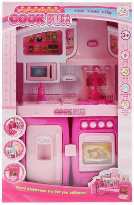 Мебель для кукол кухня, на бат. свет+звук, с аксесс. SY-2060-1 в кор. в кор.2*30шт мебель для кукол hy 034ae в кор в кор 2 42шт