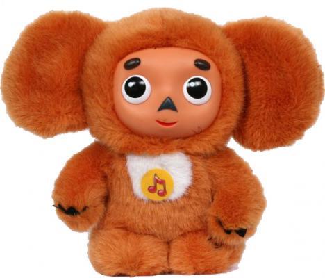 Мягкая игрушка чебурашка МУЛЬТИ-ПУЛЬТИ V85308/17 текстиль пластмасса металл оранжевый 17 см
