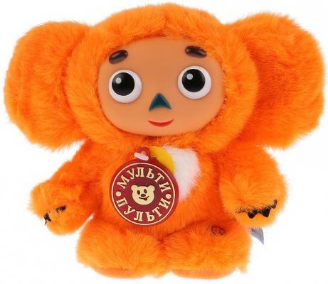 Мягкая игрушка чебурашка МУЛЬТИ-ПУЛЬТИ V85363/14H ткань пластмасса металл оранжевый 14 см