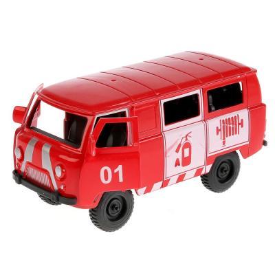 Купить Пожарная машина Shantou Gepai ПОЖАРНАЯ СЛУЖБА красный B046-H11066, Игрушечные машинки
