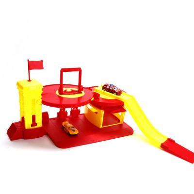Купить Пожарная станция Shantou Gepai ПОЖАРНАЯ СТАНЦИЯ С МАШИНКАМИ красный B1207921, Игрушечные машинки