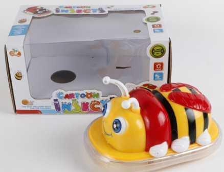 Купить Игрушка на бат. пчела свет+звук, цвет в ассорт. 001 в кор. в кор.2*36шт, Shantou, разноцветный, пластик, унисекс, Игрушки со звуком